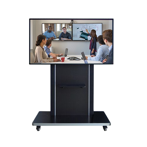 SYET 98 inch office meeting interactive whiteboard Rack-Mounted HD Large Screen Device Interactive whiteboard for conference