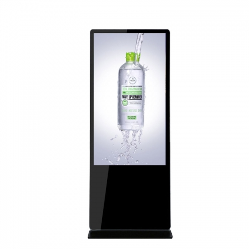SYET 65 Inch Floor Standing Touch Screen Digital Signage Advertising Player For Shopping Mall