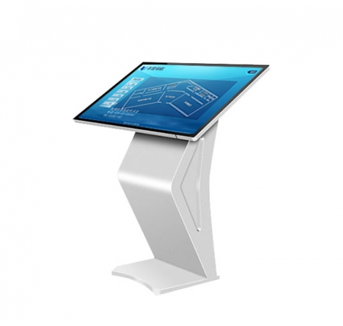 SYET 50 inch capacitive kiosk touch screen kiosk self-service display information digital display for shop window system