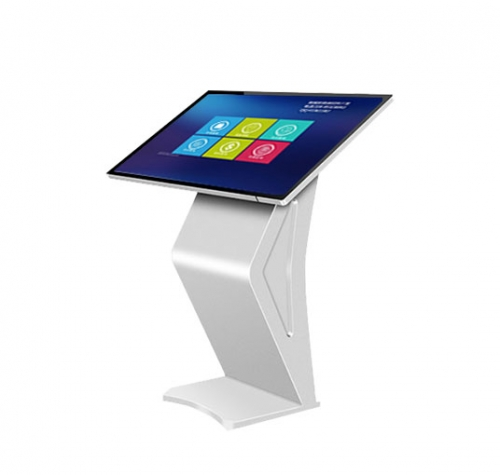 SYET 46 inch floor standing kiosk indoor kiosk interactive capacitive display touch screen lcd kiosk IR Or capacitive touch