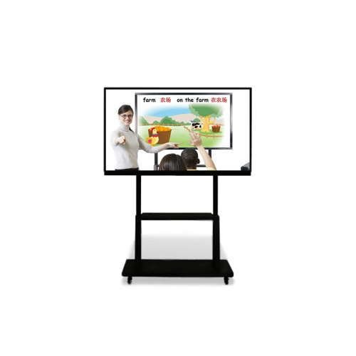 "SYET 55"" smart digital interactive white green board for classroom home office teaching 4K touch screen panel monitors computer"