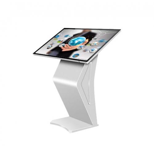 SYET 43 inch floor standing kiosk indoor kiosk interactive capacitive display touch screen lcd kiosk IR Or capacitive touch