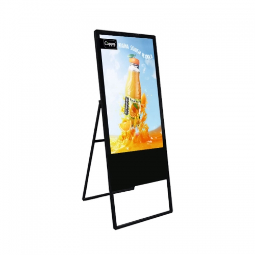 SYET 32 inch WIFI digital signage LCD advertising display kiosk advertisement player android system Portable digital signage