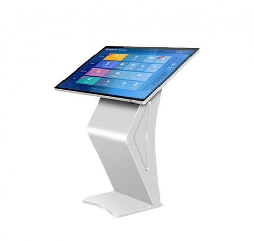 SYET 55 inch Intelligent IR touch inquiry all in one kiosk information display 10 point dual system optional 4G+128G