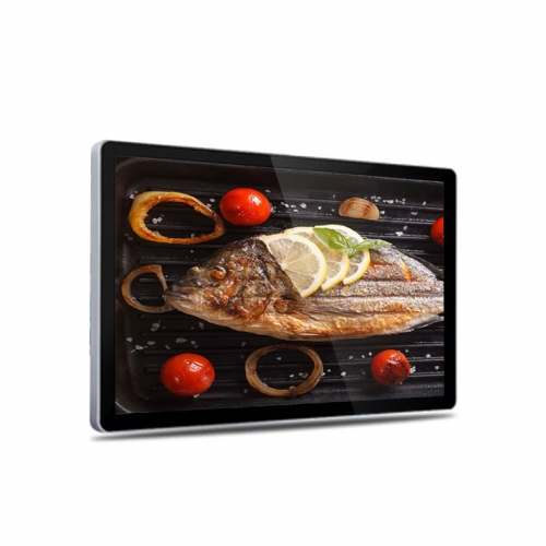 SYET 55 Inch LCD Touch Advertising Screen Wall Mounted Digital Display Player For Restaurant