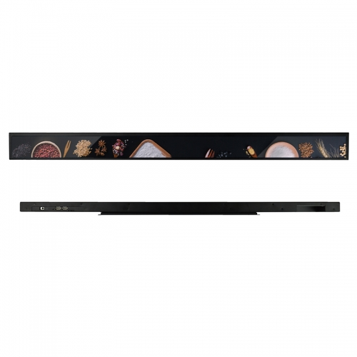 SYET 19.1 inch long LCD screen bar lcd advertising display