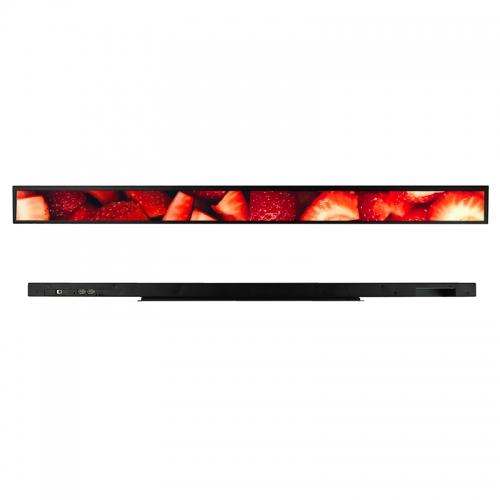 SYET 35 inch long LCD screen bar lcd advertising display