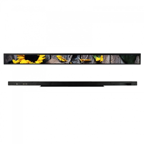 SYET 58 inch long LCD screen bar lcd advertising display
