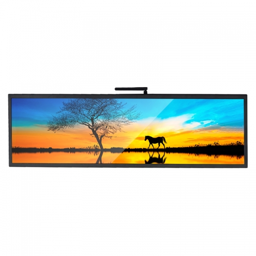 SYET 28.5 inch long LCD screen bar lcd advertising display