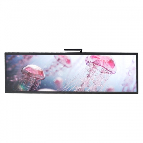 SYET 36 inch long LCD screen bar lcd advertising display