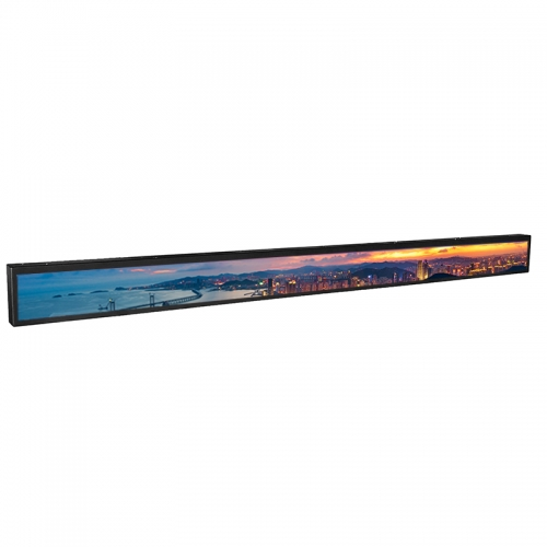 SYET 28 inch long LCD screen bar lcd advertising display