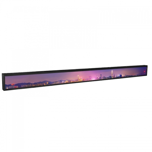 SYET 24.5 inch long LCD screen bar lcd advertising display