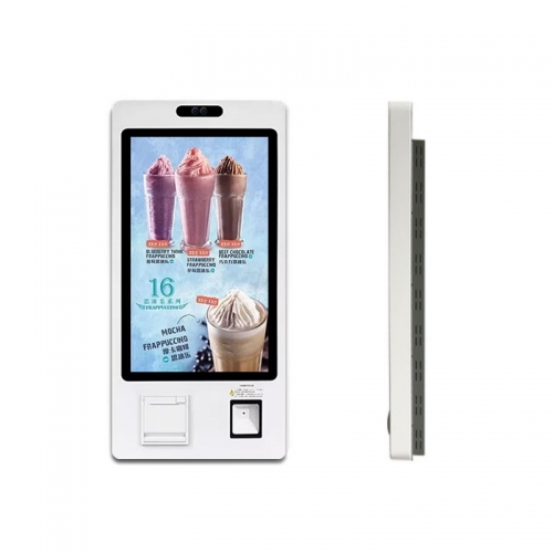 "SYET 24"" Capacitive Touch Screen Cinema Ticket Self Ordering Kiosk With Printer"