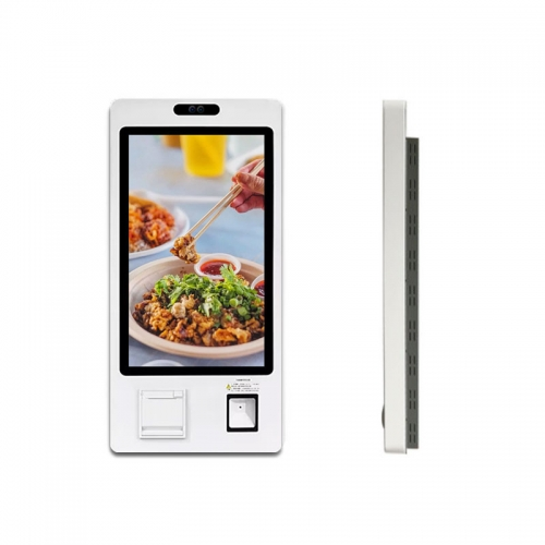 "SYET 28"" Capacitive Touch Screen Cinema Ticket Self Ordering Kiosk With Printer"