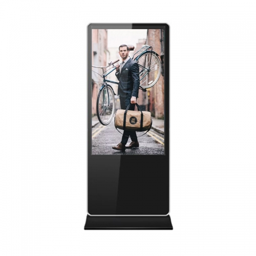 "SYET 32"" inch alone Floor standing Indoor Android digital signage Touch screen lcd kiosk advertising display with WIFI"